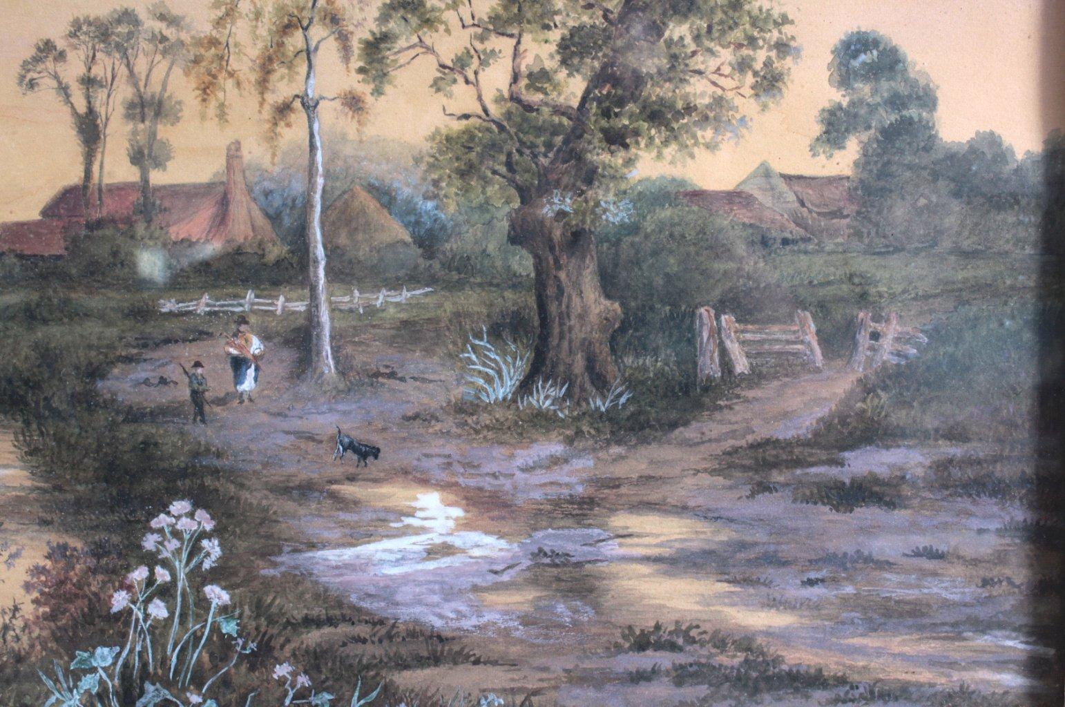 Aquarell 19. Jahrhundert-2