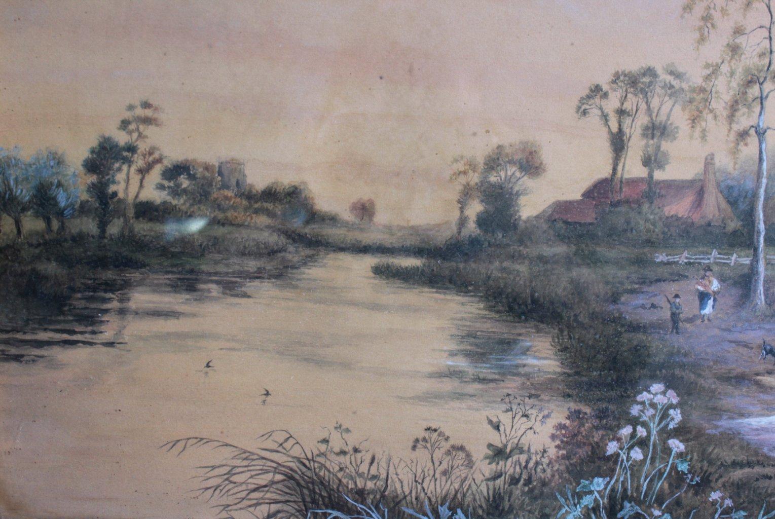 Aquarell 19. Jahrhundert-3