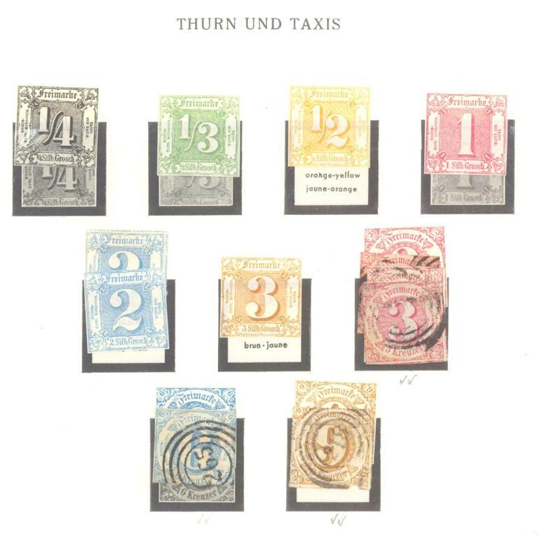 THURN und TAXIS 1852-1866-2
