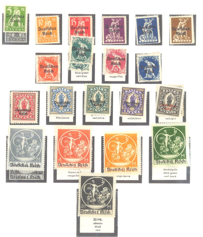 DEUTSCHES REICH – INFLATIONSZEIT 1916-1923-2