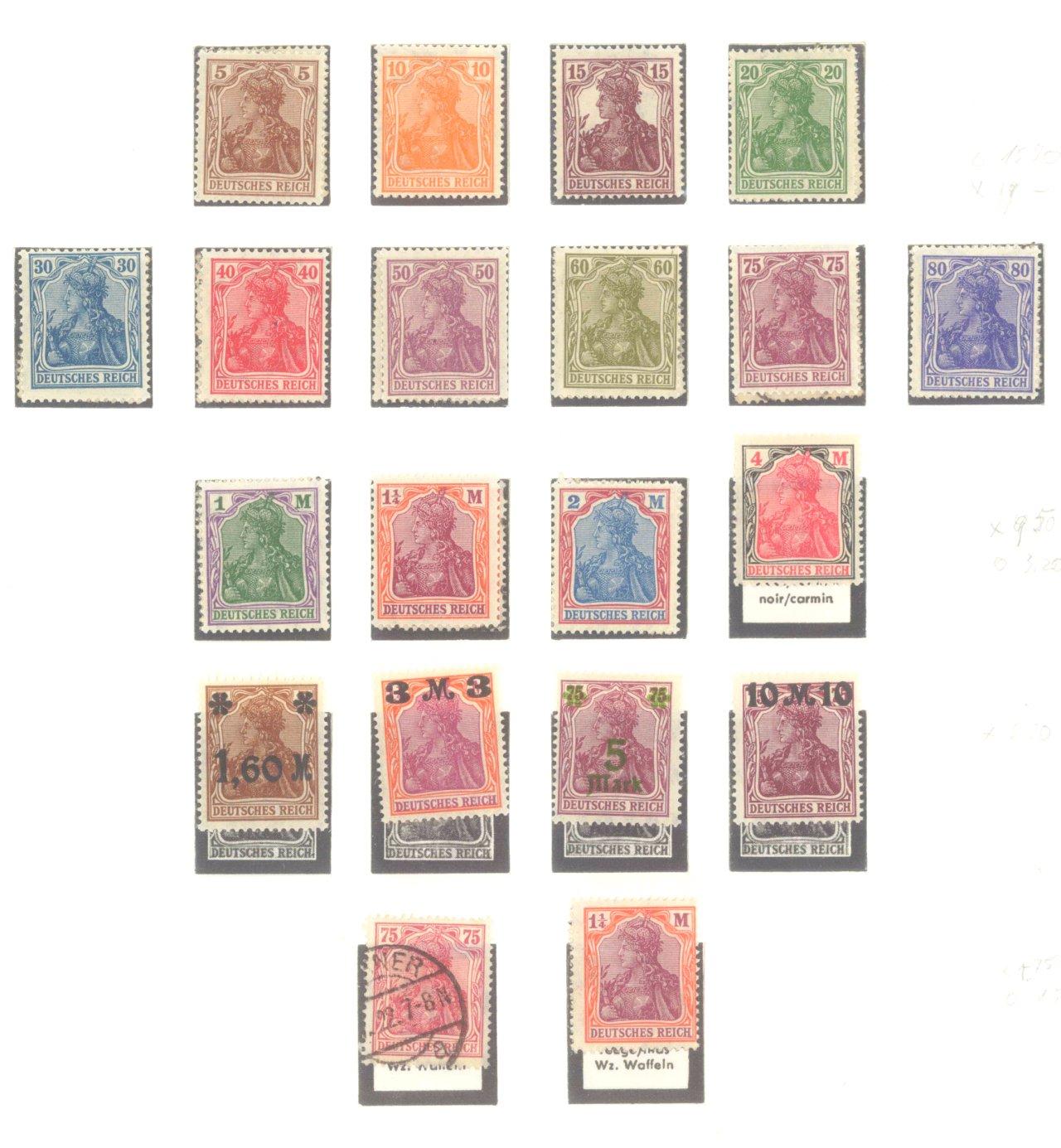 DEUTSCHES REICH – INFLATIONSZEIT 1916-1923-3