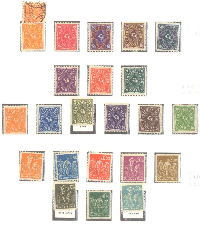 DEUTSCHES REICH – INFLATIONSZEIT 1916-1923-6