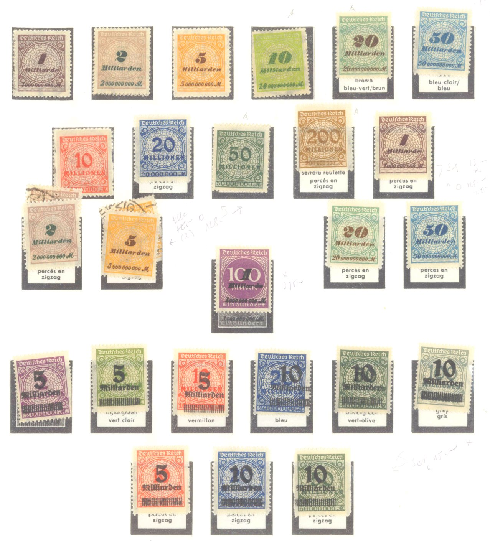 DEUTSCHES REICH – INFLATIONSZEIT 1916-1923-11