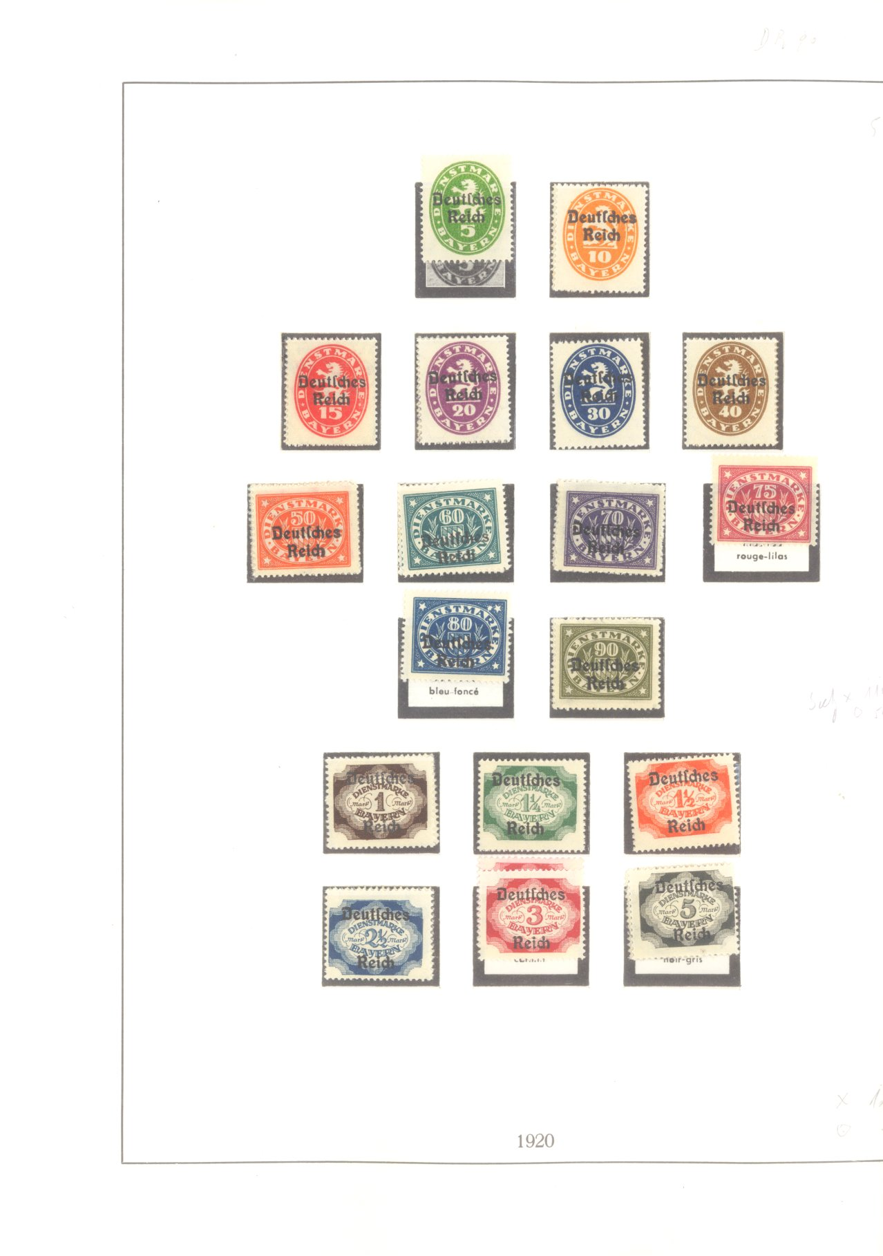 DEUTSCHES REICH – INFLATIONSZEIT 1916-1923-15