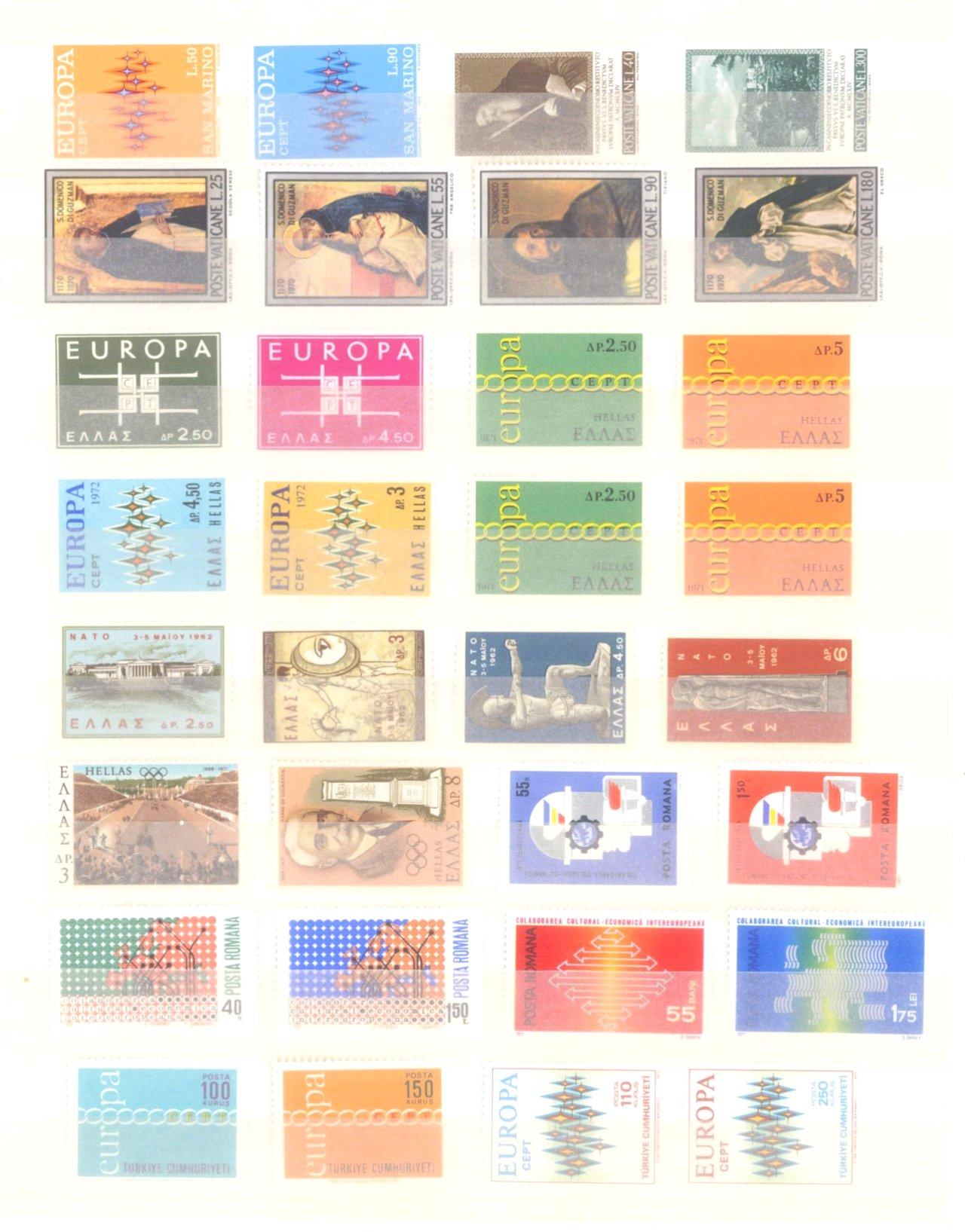EURROPA CEPT mit SPANISCH – ANDORRA 1972-10