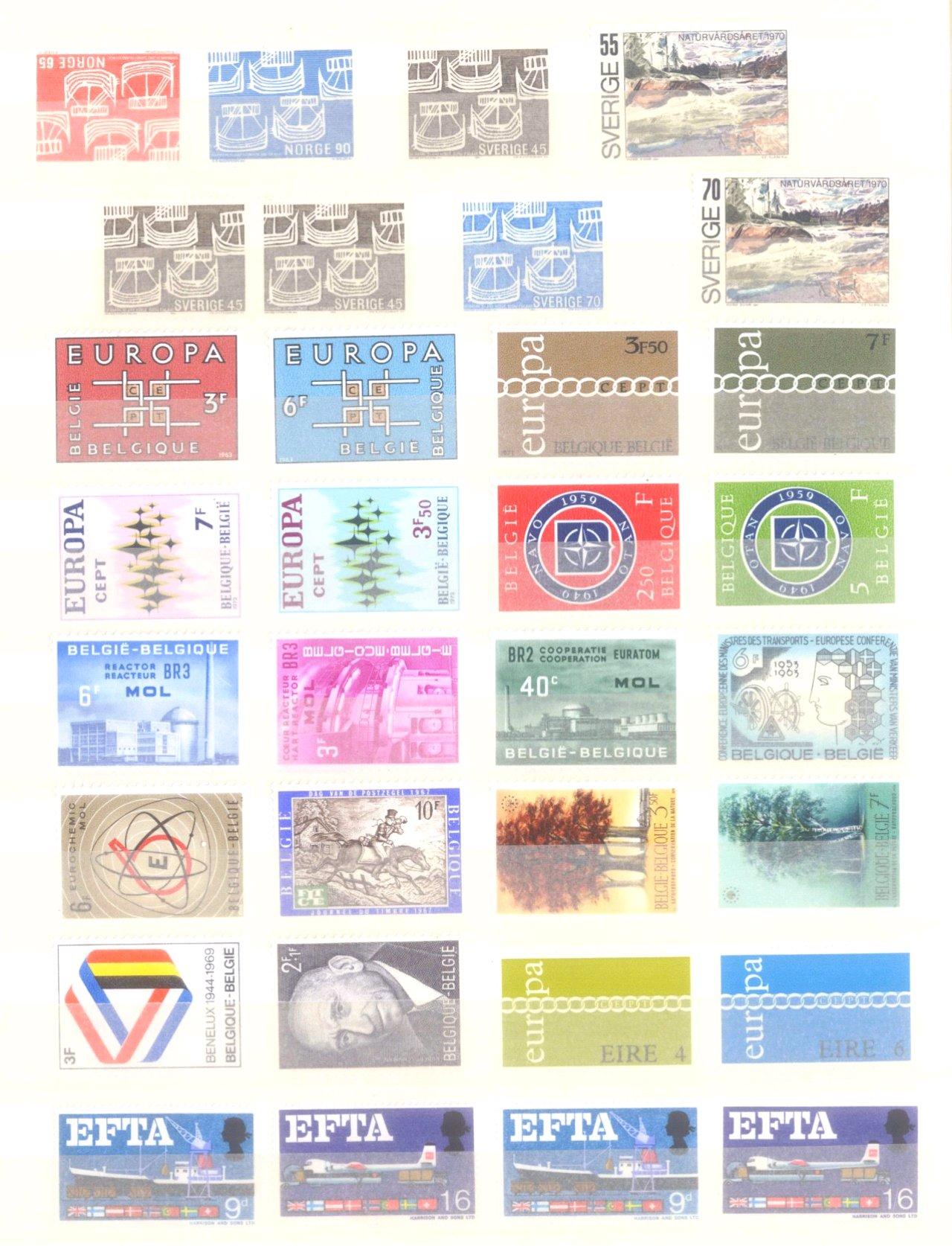 EURROPA CEPT mit SPANISCH – ANDORRA 1972-13
