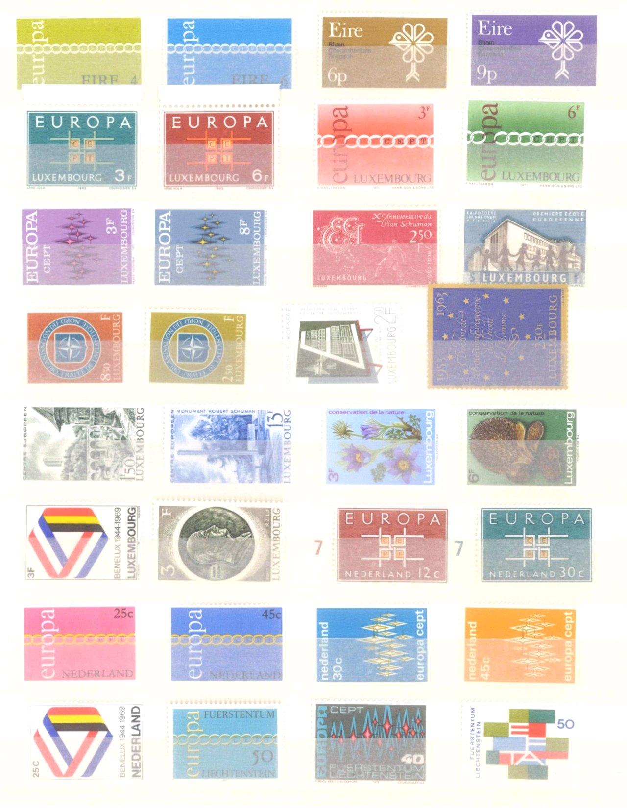 EURROPA CEPT mit SPANISCH – ANDORRA 1972-14