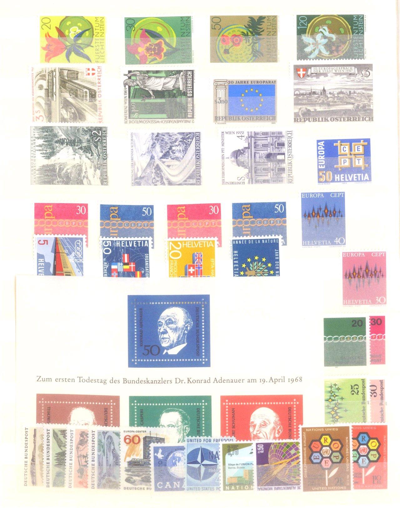EURROPA CEPT mit SPANISCH – ANDORRA 1972-15