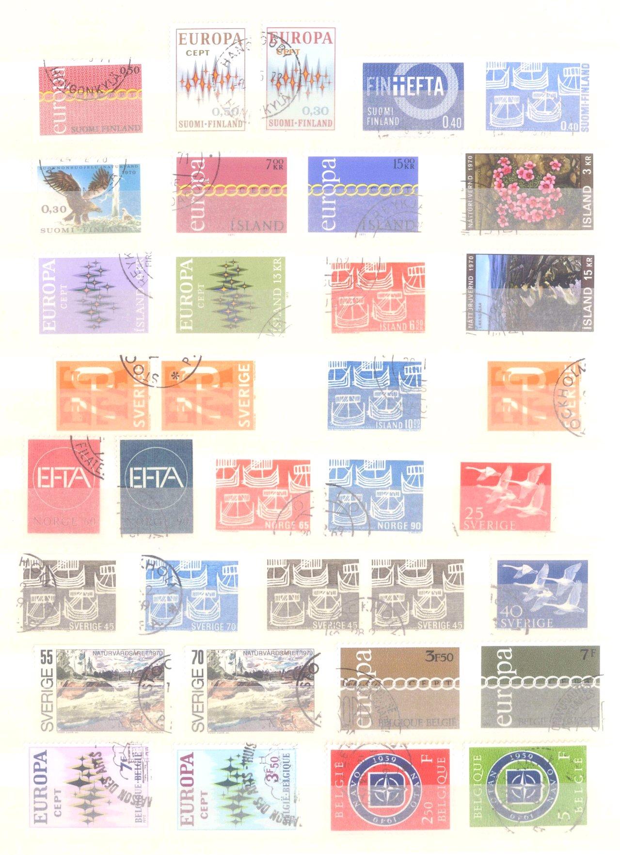 Europa CEPT mit SPANISCH – ANDORRA 1972-10
