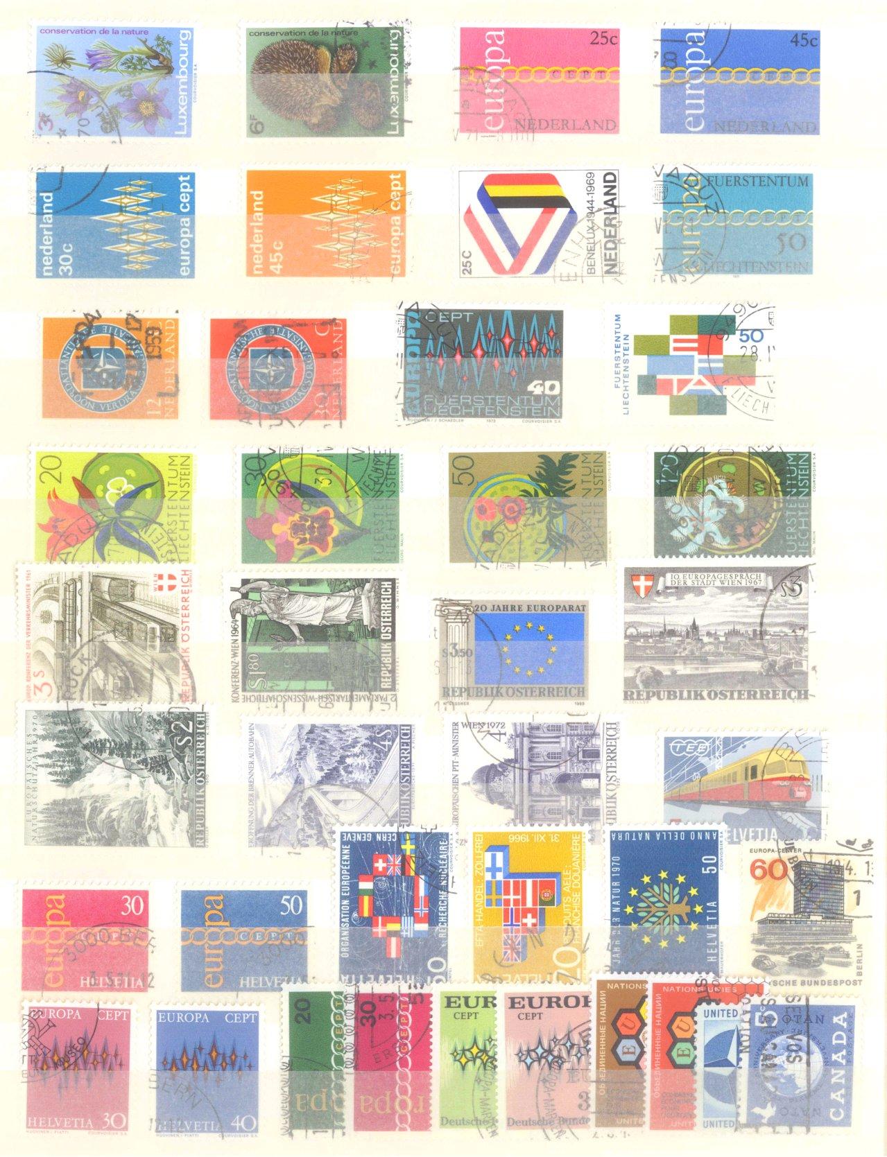 Europa CEPT mit SPANISCH – ANDORRA 1972-12