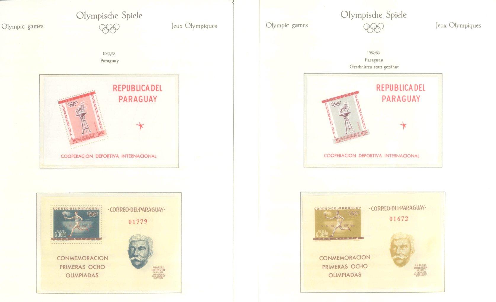 OLYMPISCHE SPIELE 1964 TOKIO, postfrische Sammlung Teil 2-11