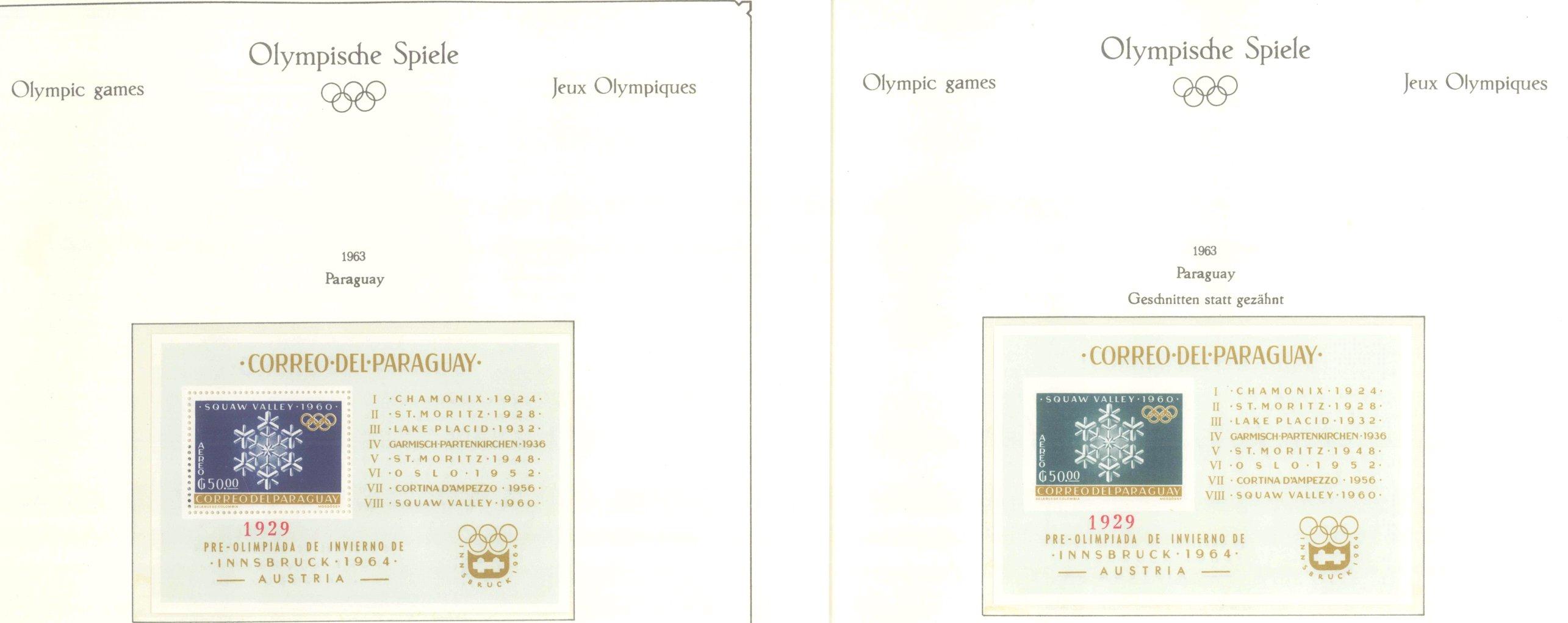 OLYMPISCHE SPIELE 1964 TOKIO, postfrische Sammlung Teil 2-13
