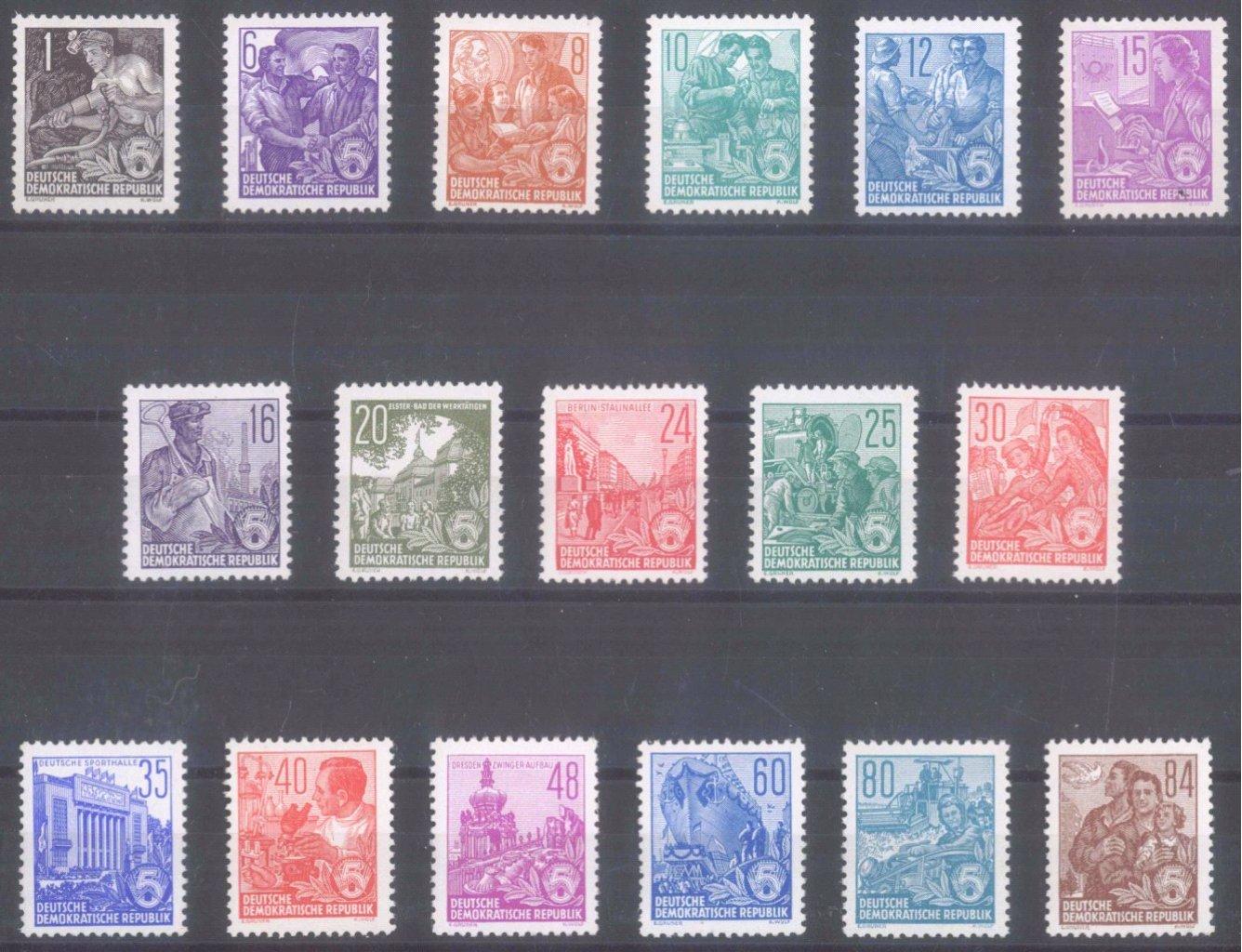 DDR 1953, Fünfjahrplan, Buchdruck