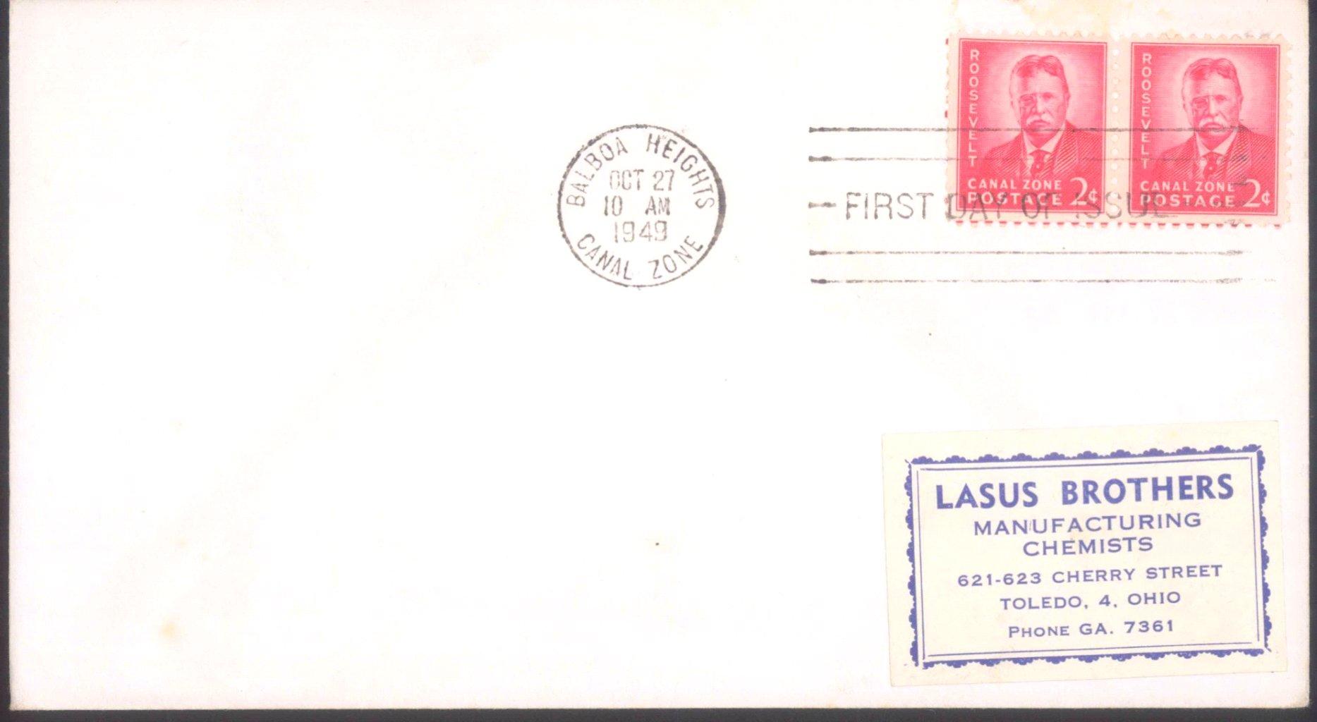 PANAMAKANALZONE 1946