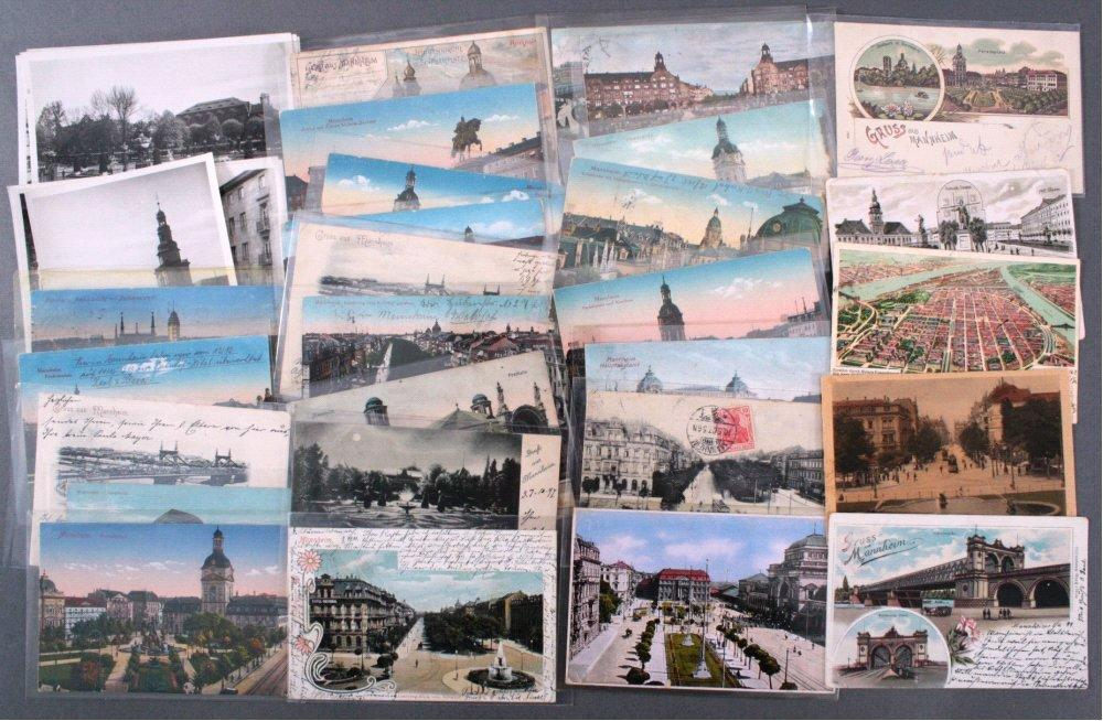 28 Gruß aus Mannheim Postkarten