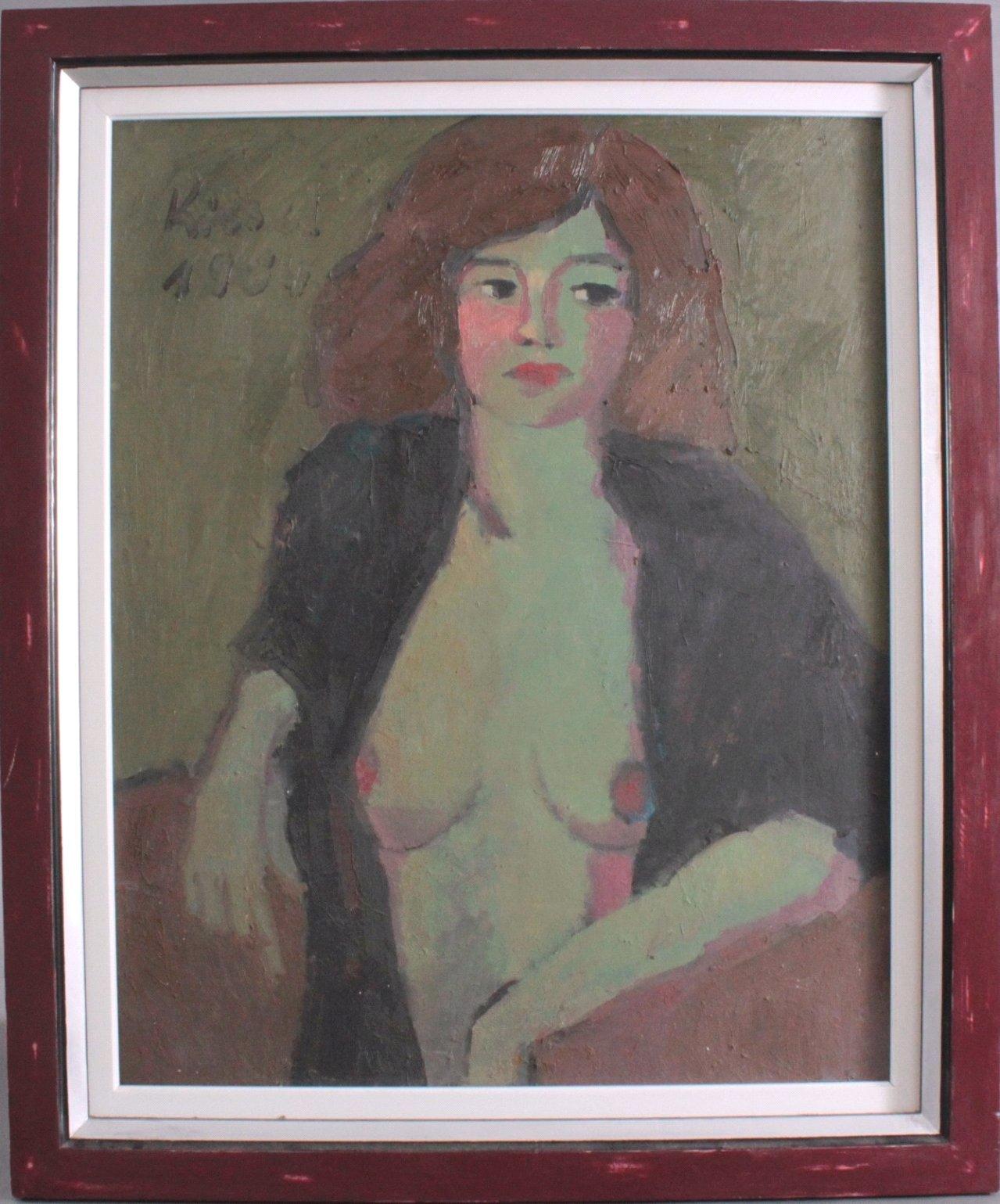 """Gernot Kissel (1939-2008). """"Weiblicher Akt"""""""