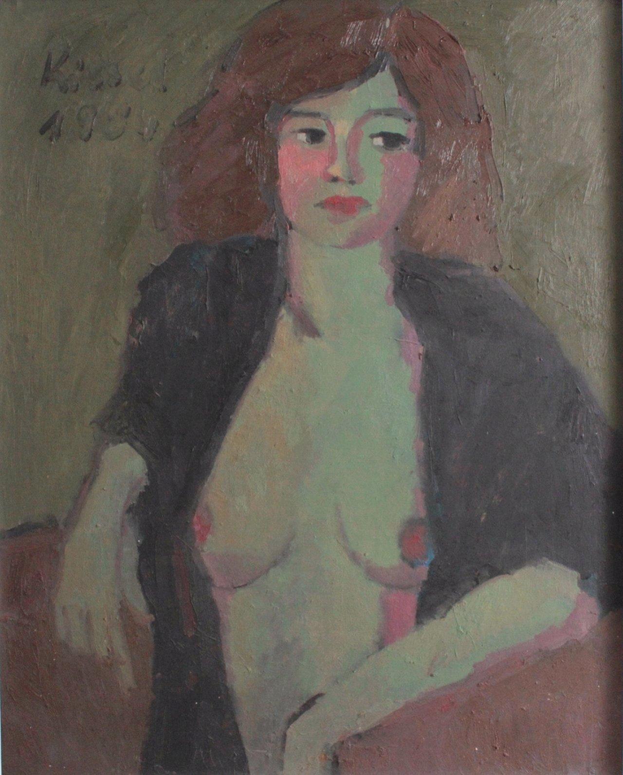 """Gernot Kissel (1939-2008). """"Weiblicher Akt""""-1"""