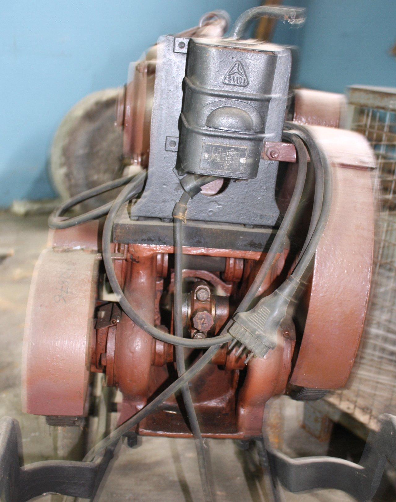 Pumpe mit Elektroantrieb der Marke Elin-3