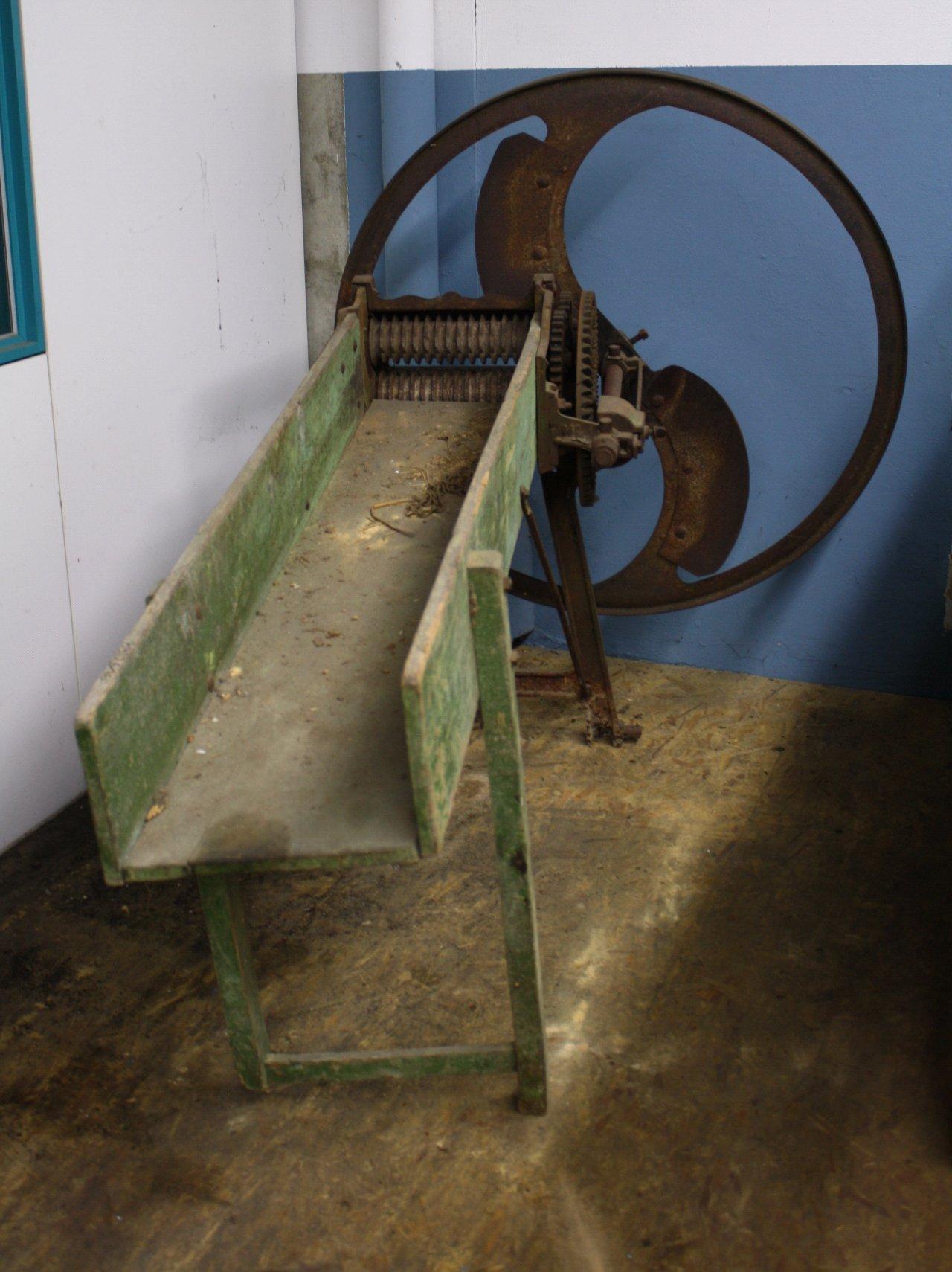 Landwirtschaftliche Maschine mit gußeisernen Schwungrad