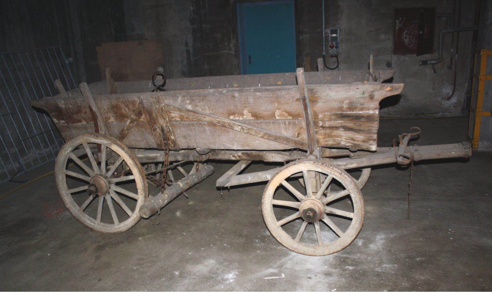Leiterwagen um 1900