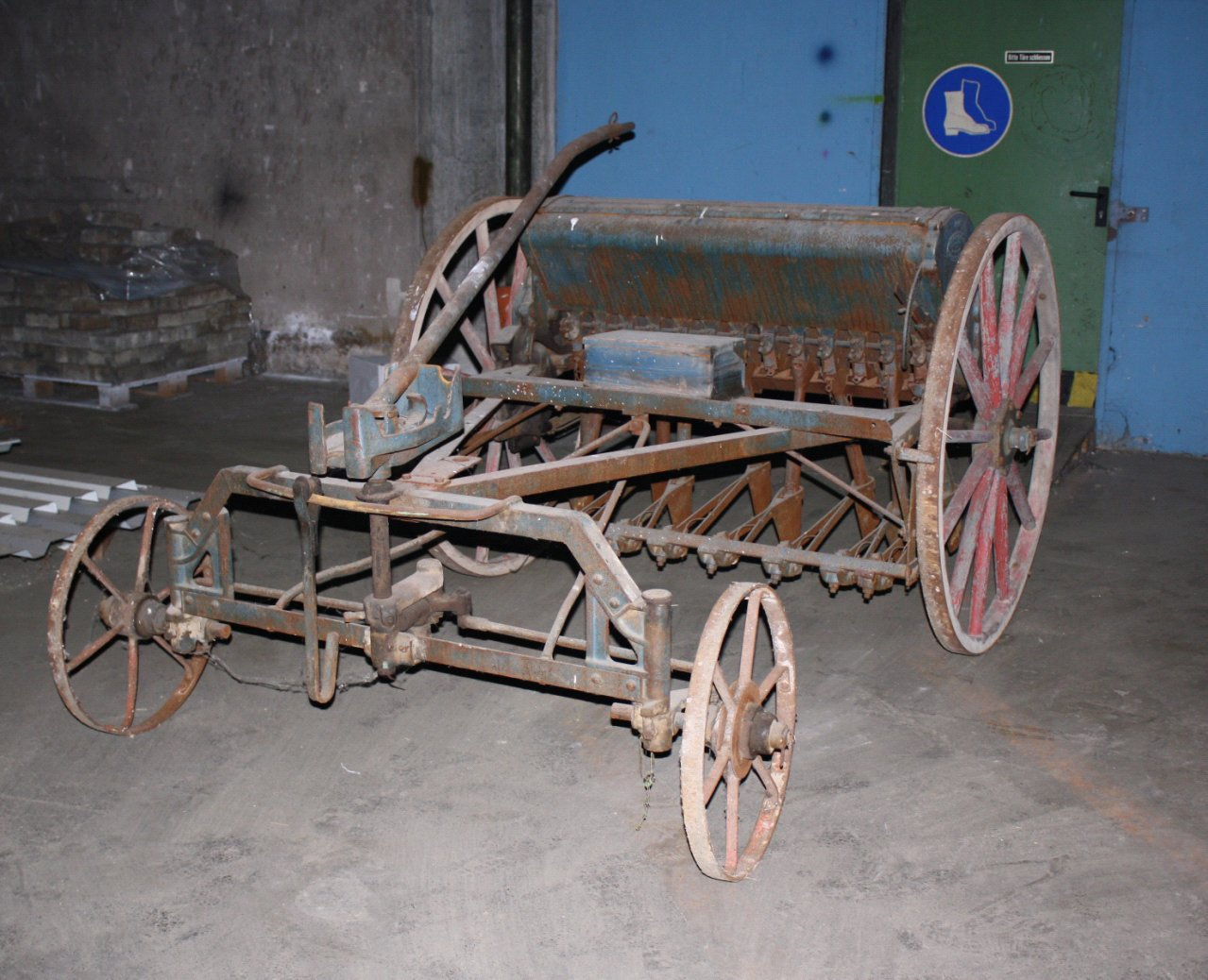 Sähmaschine um 1900