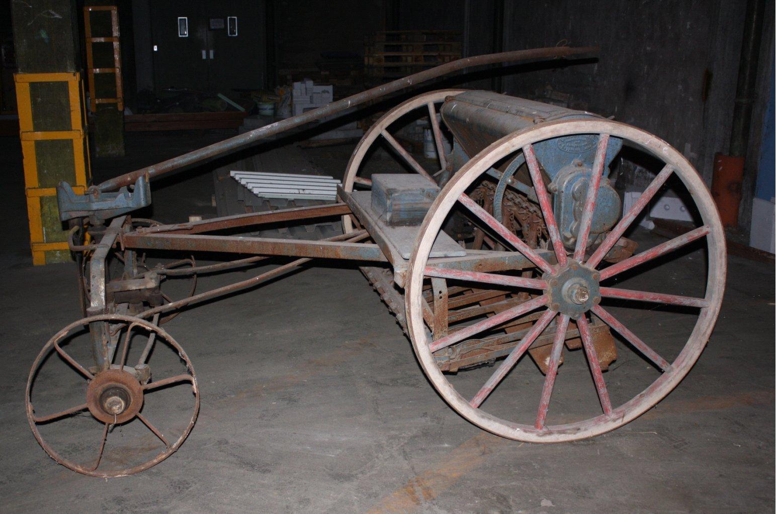 Sähmaschine um 1900-1