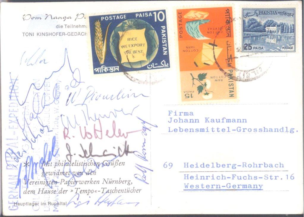 MOTIV EXPEDITION / BERGSTEIGEN / GERMAN RUPAL 1968-1
