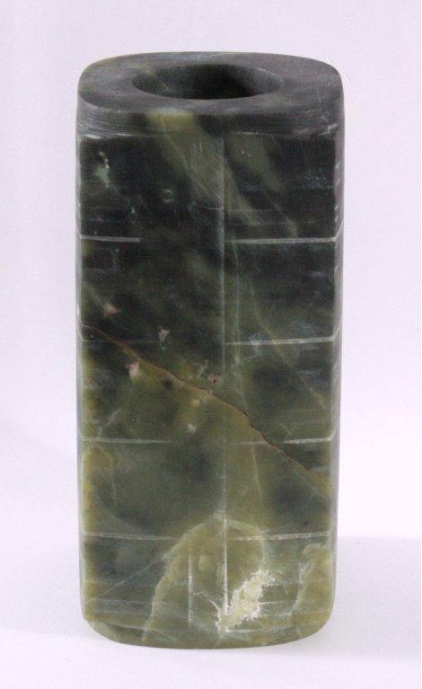 Jade Zierobjek aus grüner Jade-2