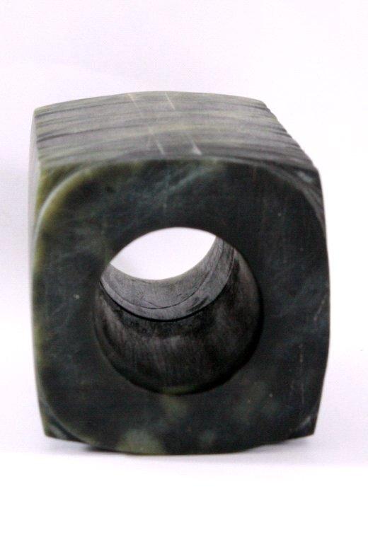 Jade Zierobjek aus grüner Jade-3