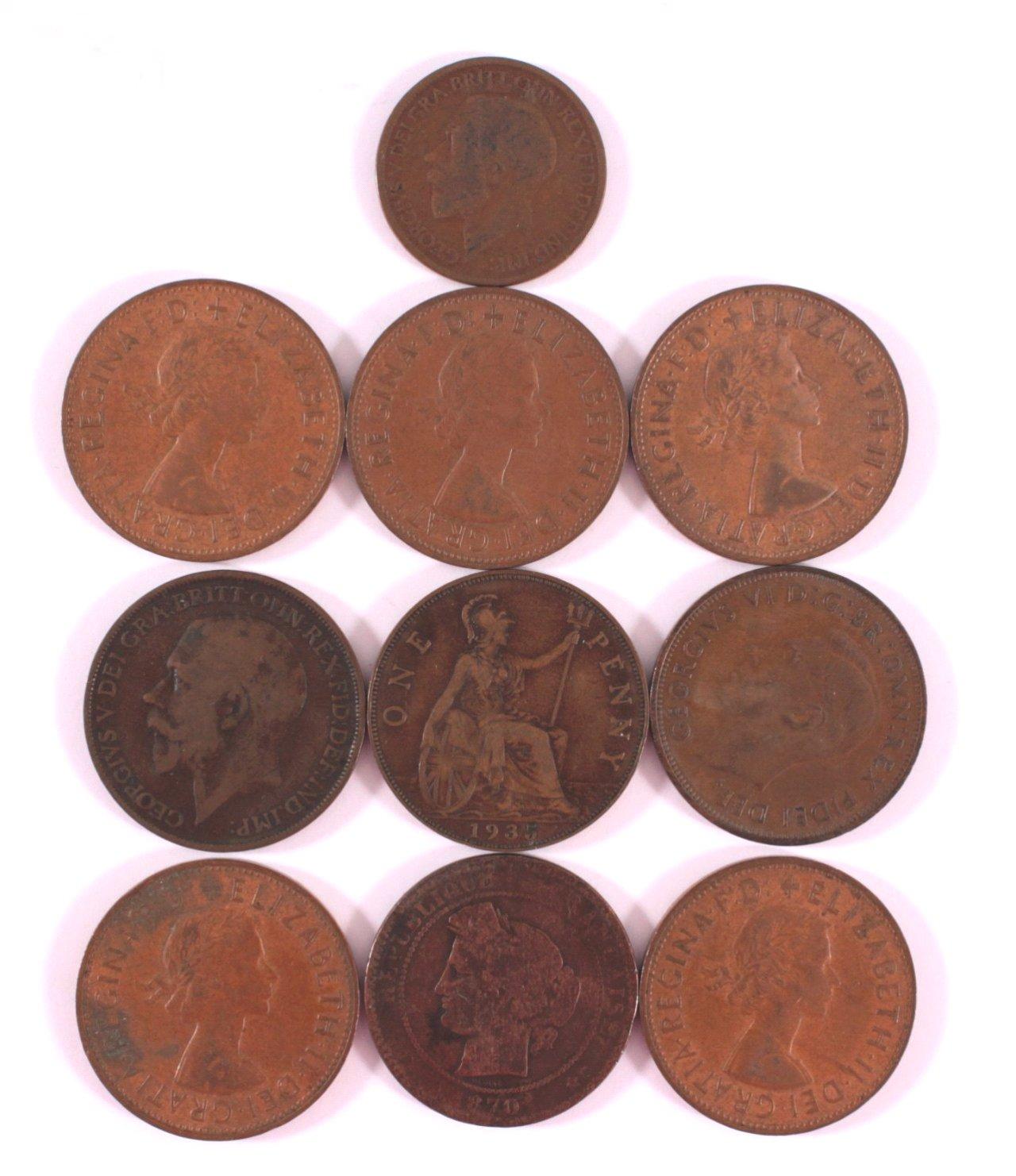 Konvolut Englische / Australische Münzen