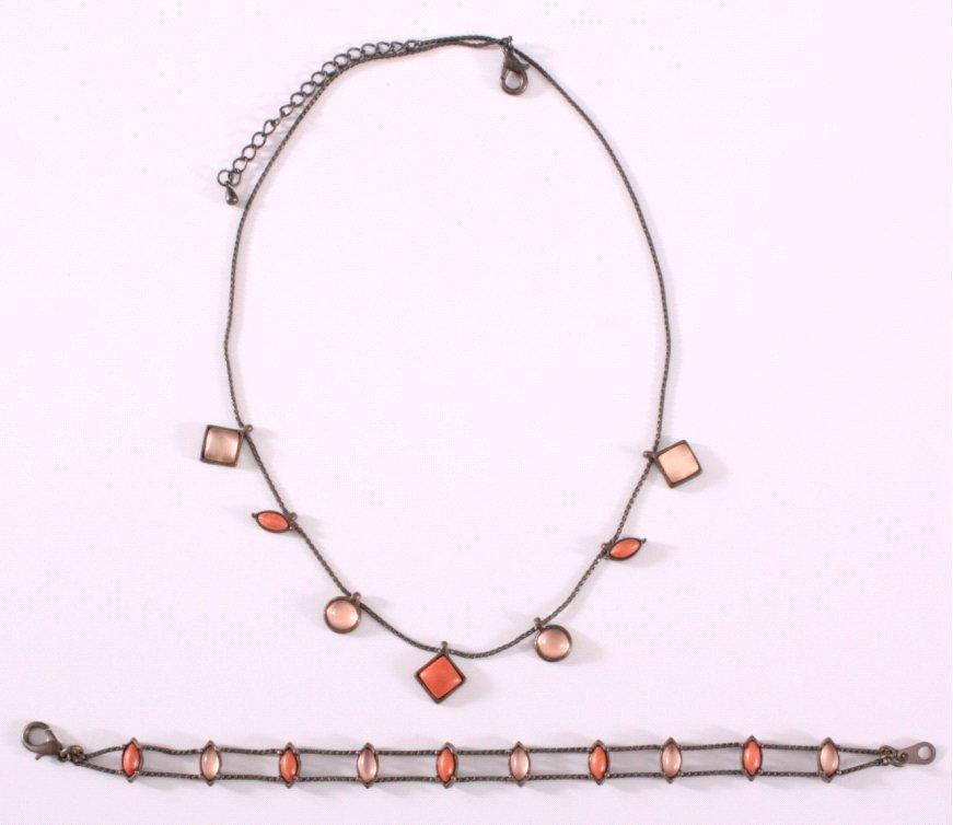 Antikes Collier und Armband