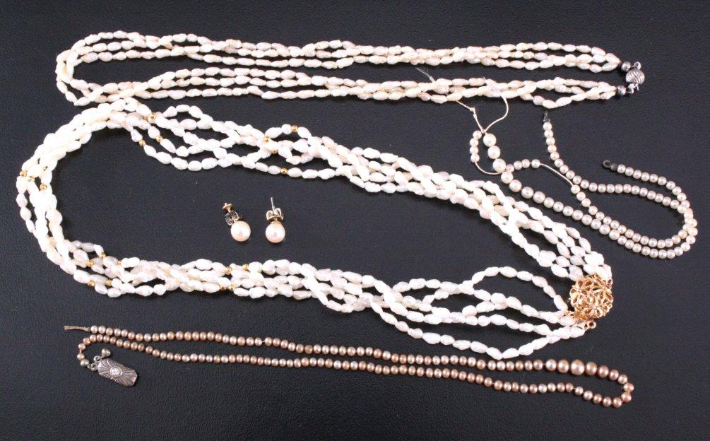 Konvolut Perlenketten