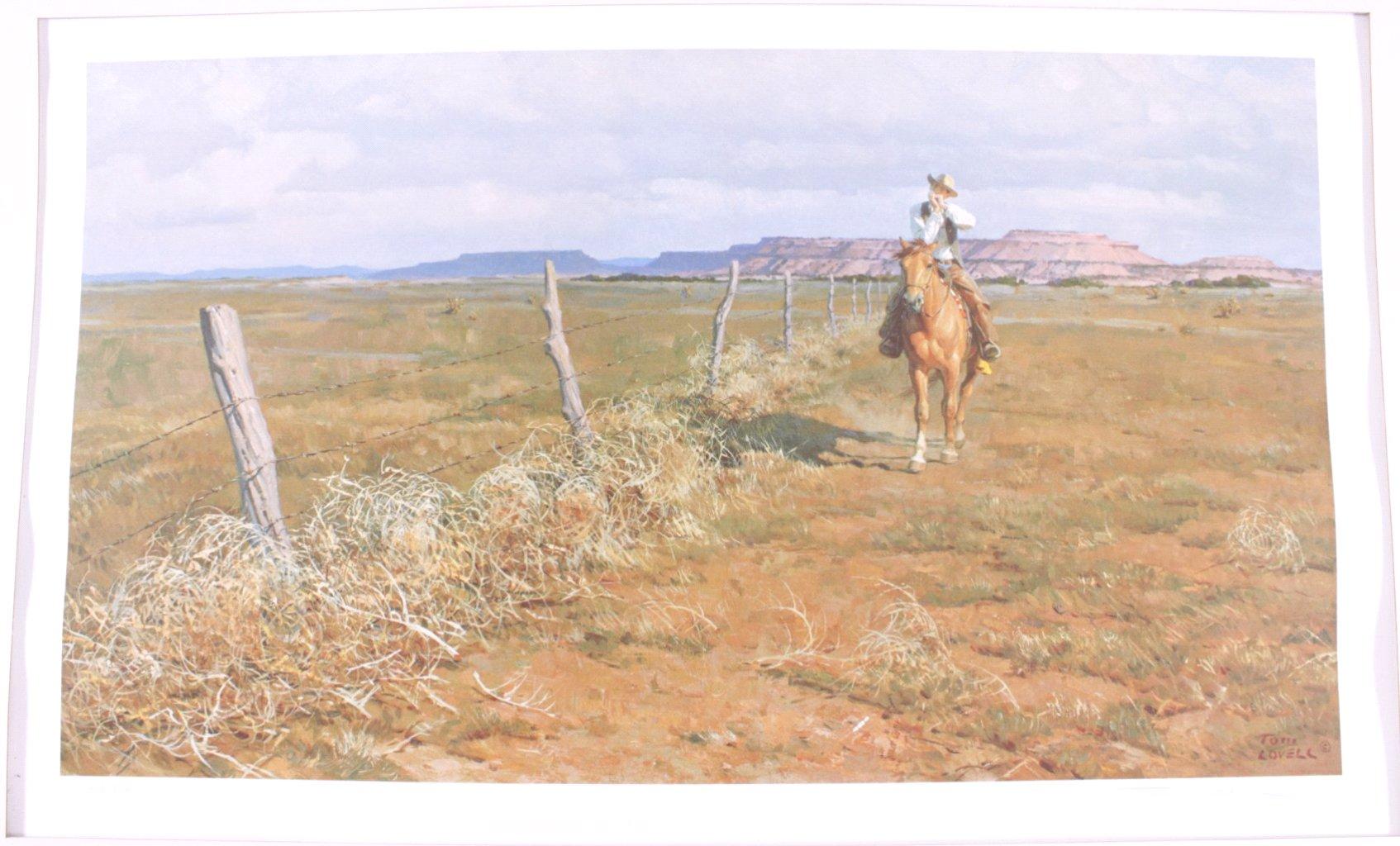 2 Lithographien, Wild West-4