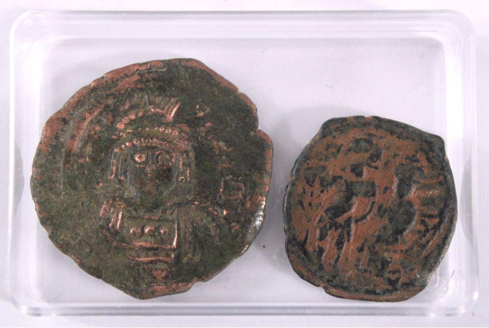 2 Byzantinische Münzen