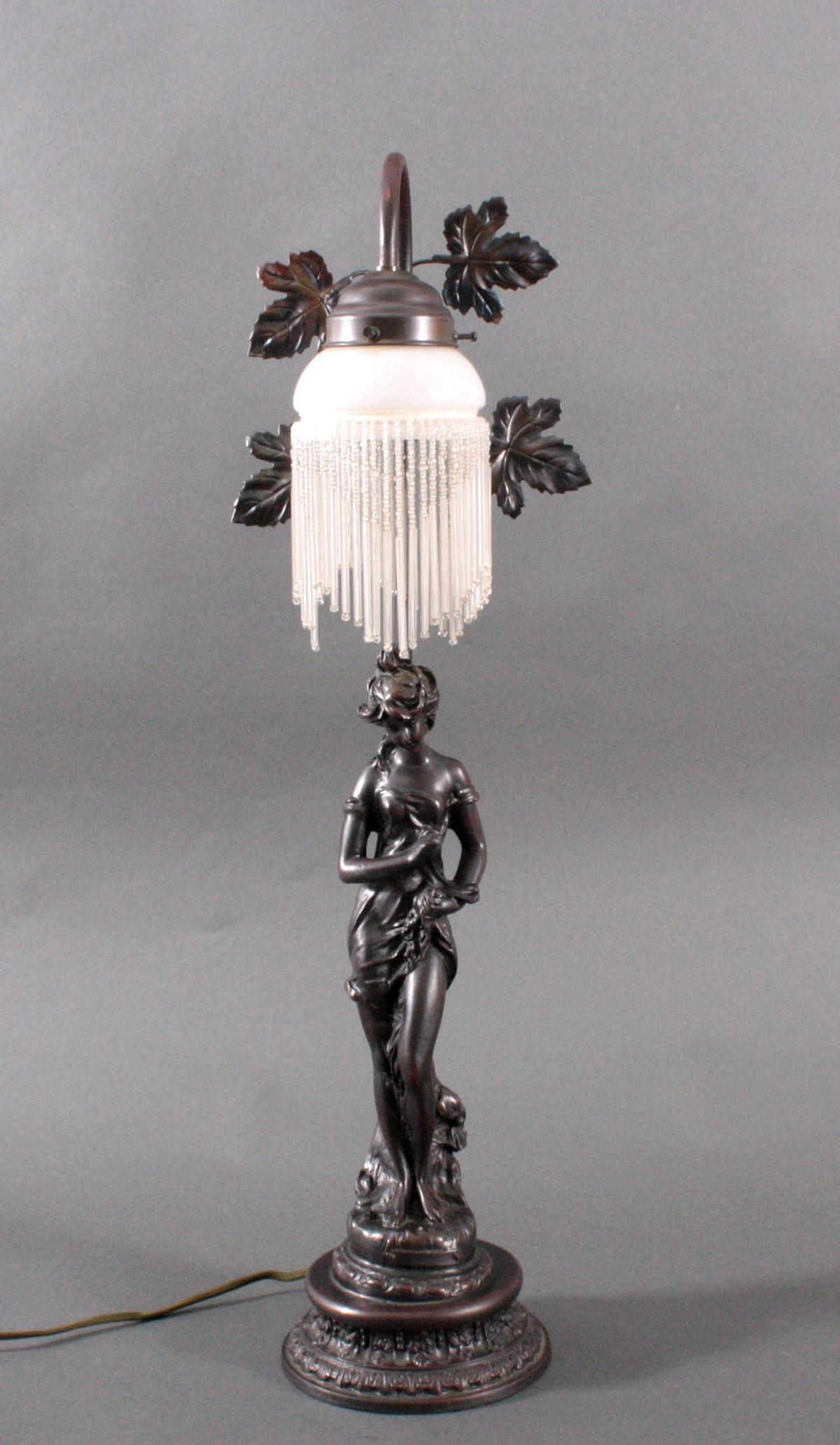 Figürliche Tischlampe, 2. Hälfte 20. Jh.