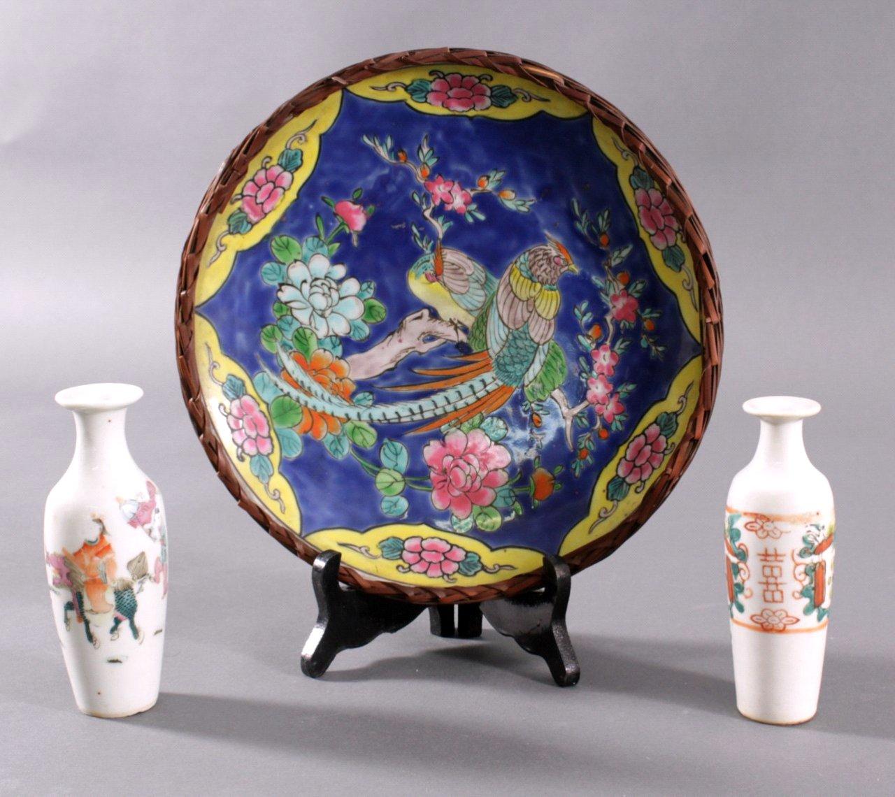 Asiatisches Pozellan. 3-Teile