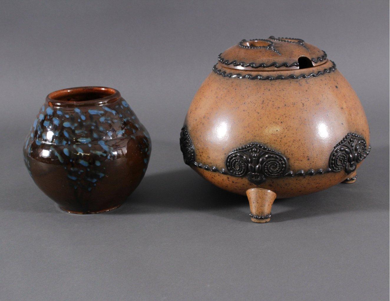 Jugendstil-Bowle, Merkelbach Keramik um 1920