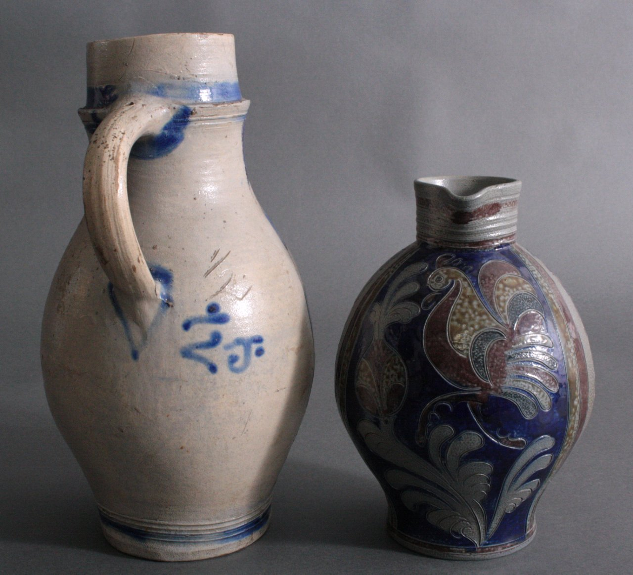 f nf teile keramik westerwald steinzeug badisches. Black Bedroom Furniture Sets. Home Design Ideas