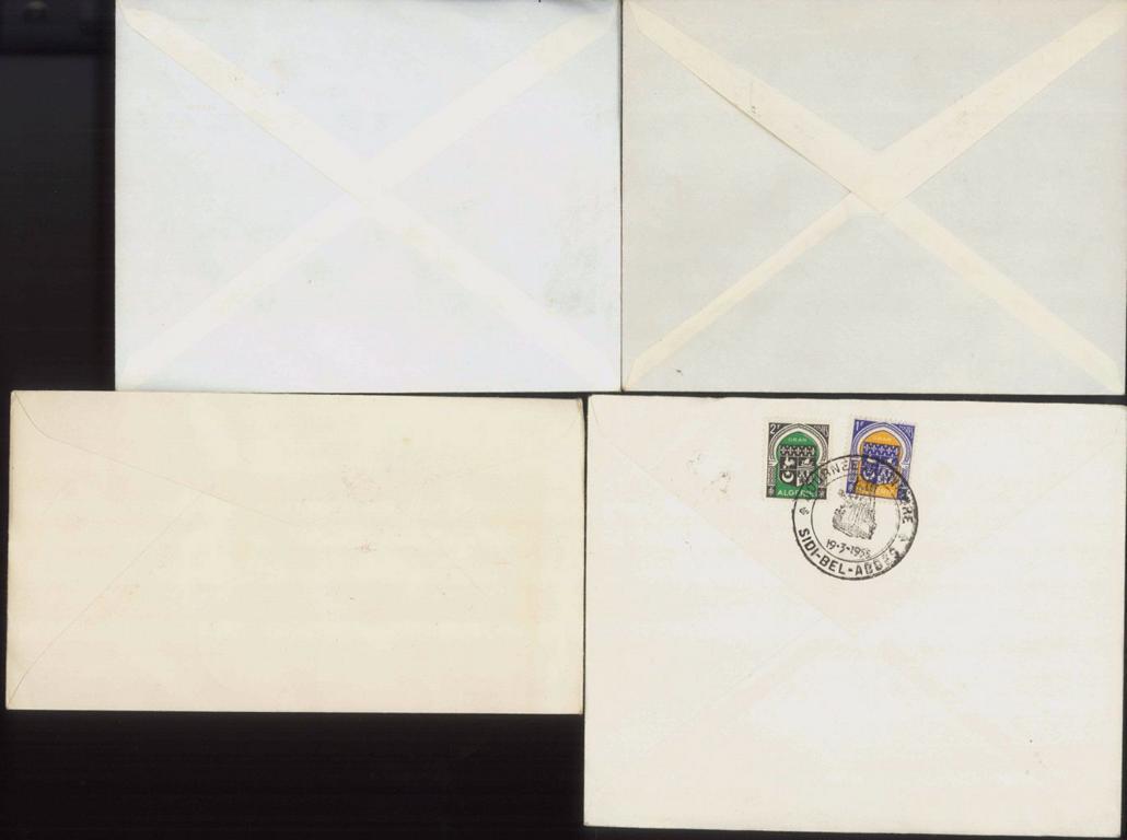 ALGERIEN 1954-1957, auch Motive Rotes Kreuz, Tiere-1