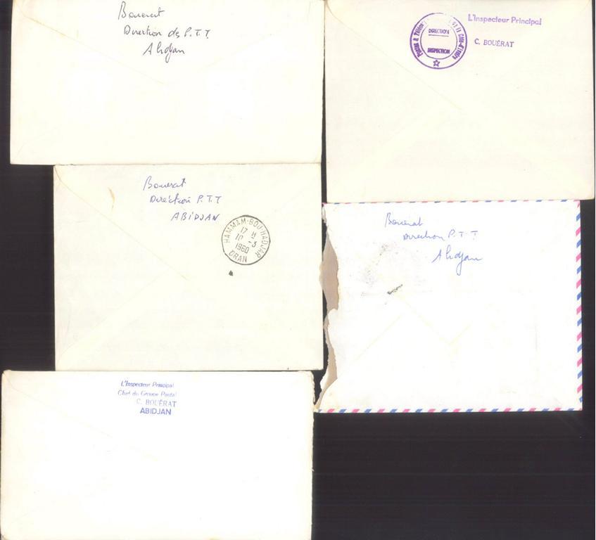 ALGERIEN / ELFENBEINKÜSTE 1960-1961-1