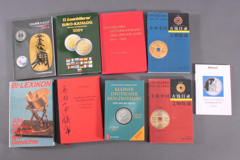 Numismatik Literatur, dabei auch Japan und China