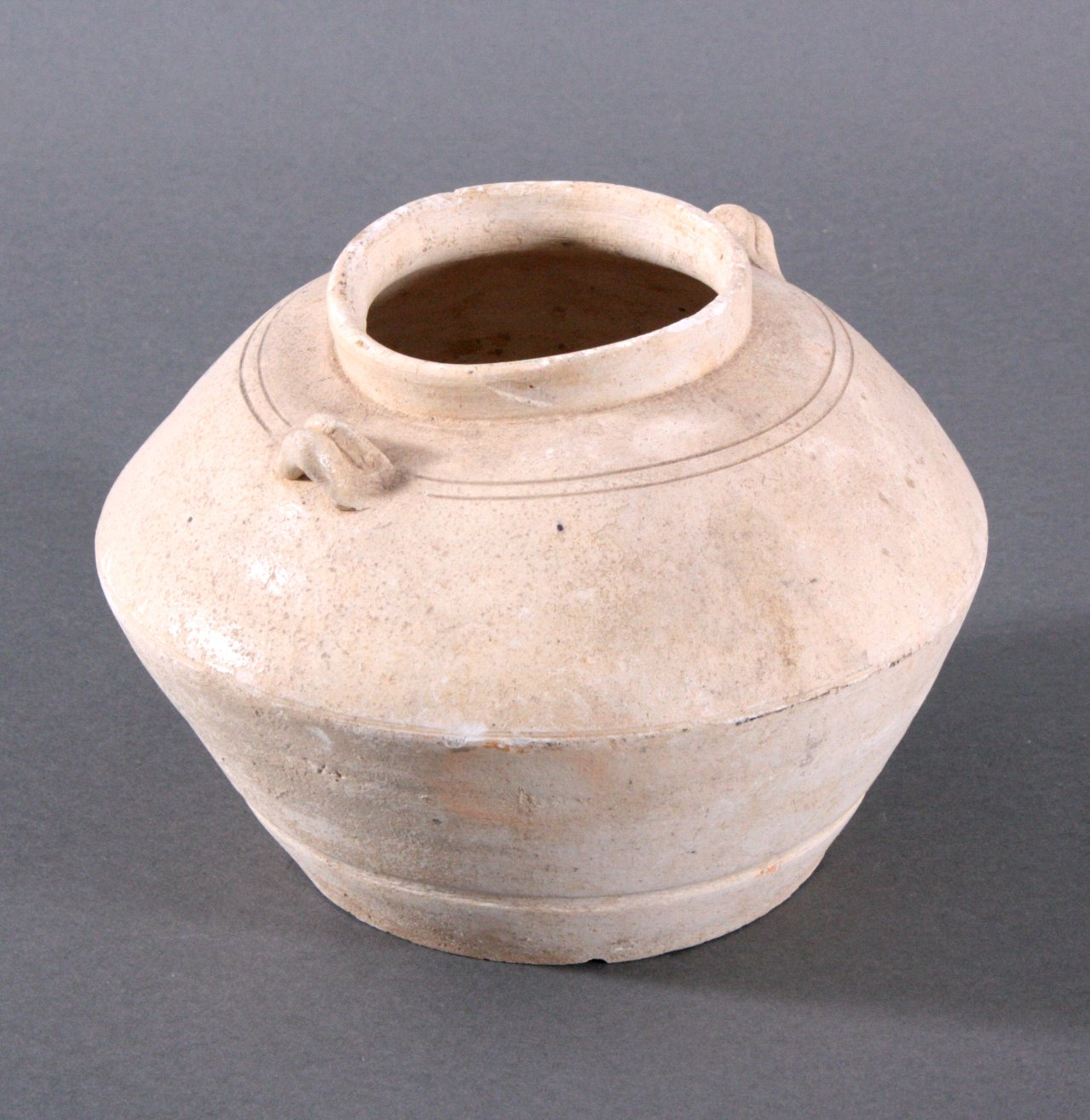 Rundes Vorratsgefäß, Angkor-Periode 12./13. Jh.-1