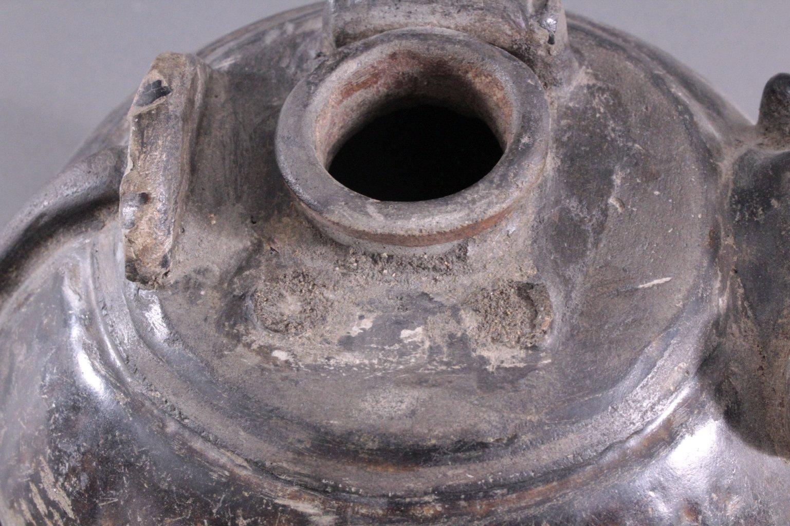 Rundes Vorratsgefäß, Angkor-Periode 12./13. Jahrhundert-4