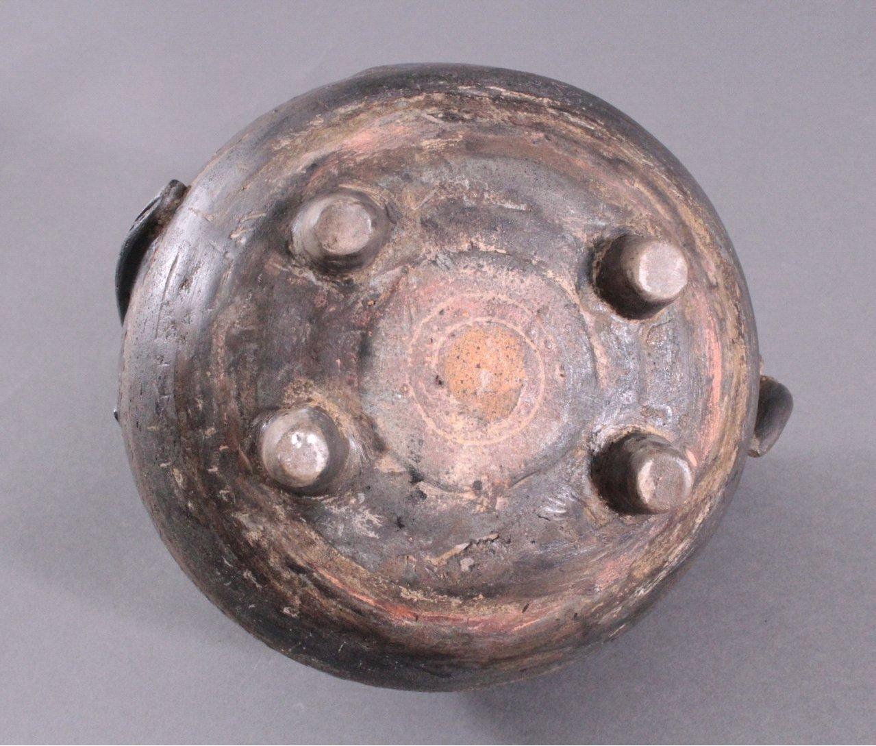 Rundes Vorratsgefäß, Angkor-Periode 12./13. Jahrhundert-5
