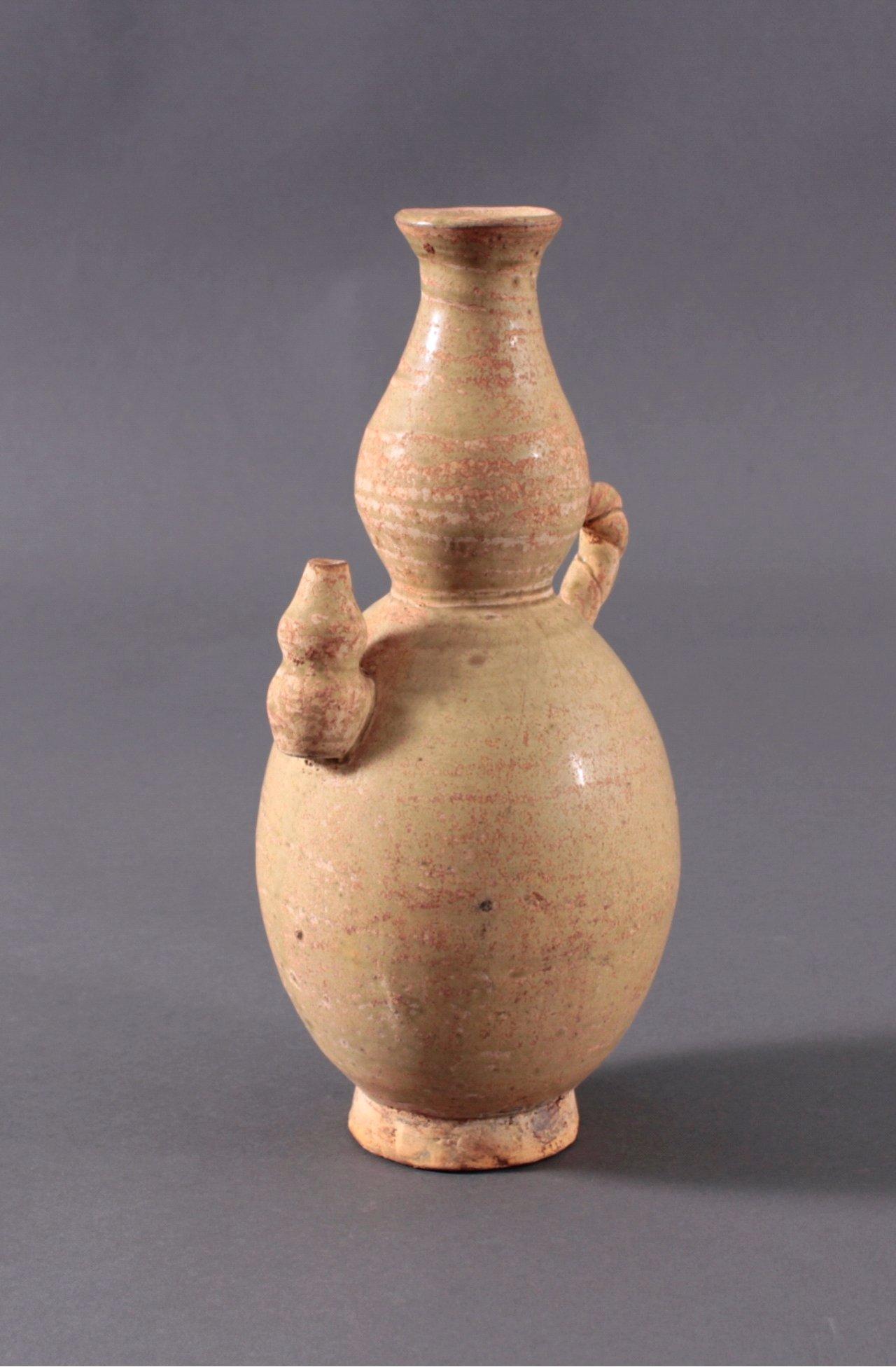 Rundes Vorratsgefäß, Angkor-Periode 12./13. Jahrhundert-1