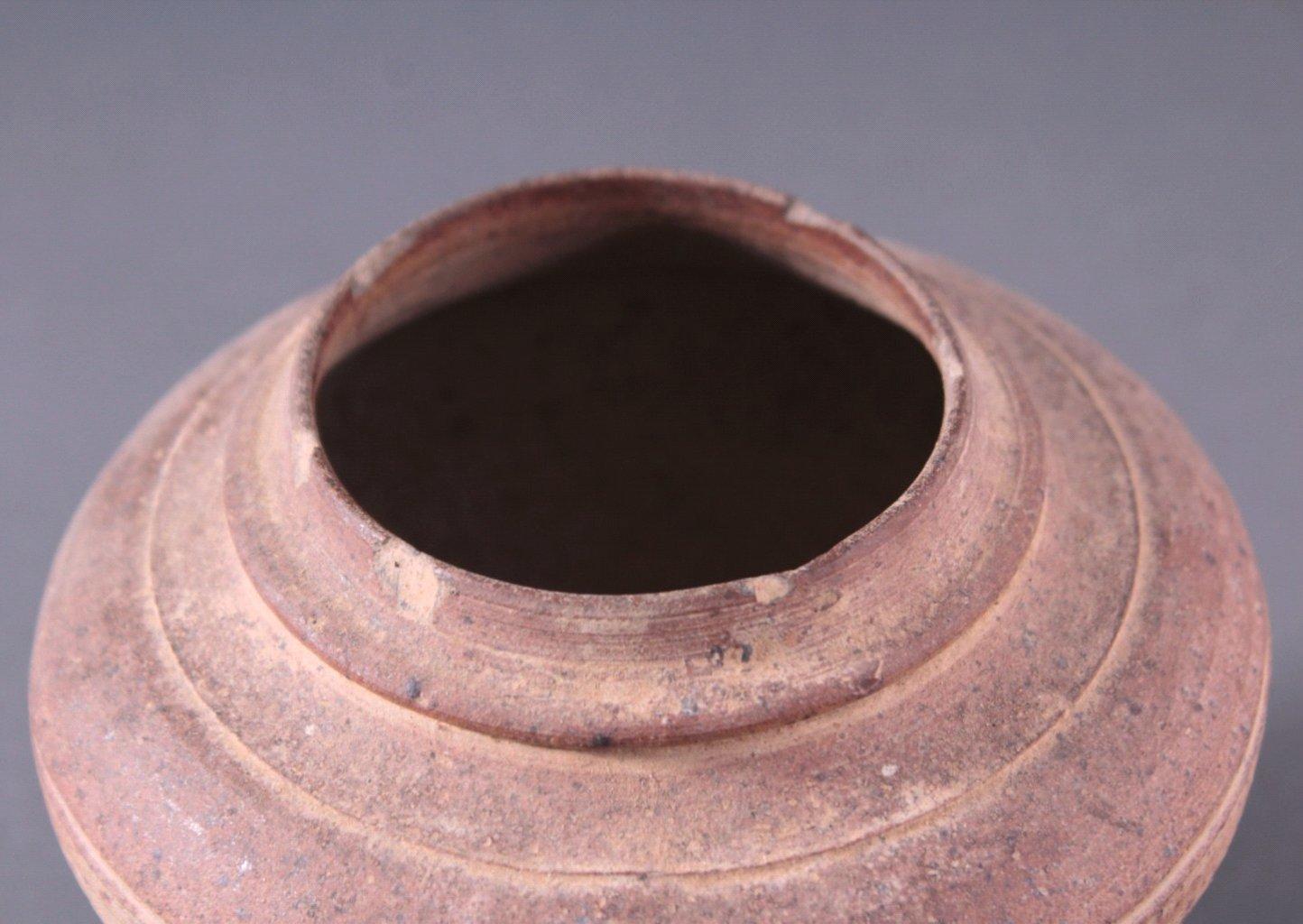 Kleines Vorratsgefäß, Angkor-Periode 12./13. Jahrhundert-1