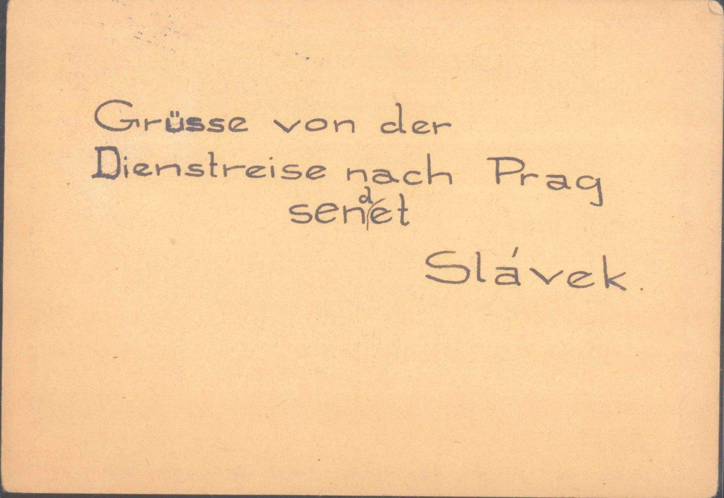 """1944 THERESIENSTADT, seltener STEMPEL """"JÜDISCHE SELBST--1"""