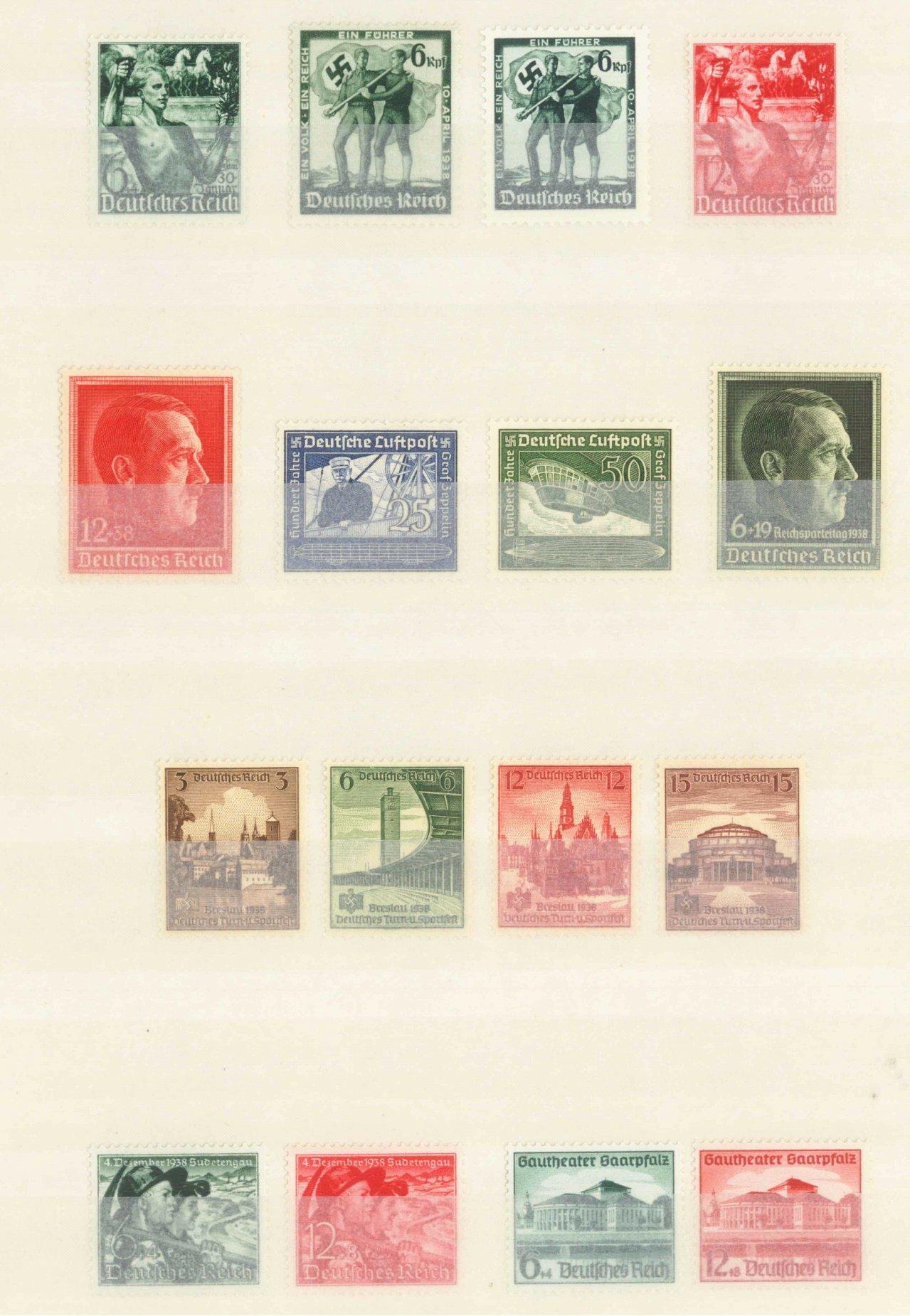III. Reich 1938, 9 komplette Ausgaben