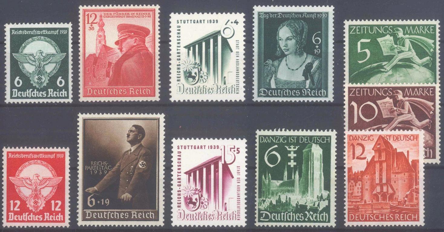 III. Reich 1939, 7 komplette Ausgaben