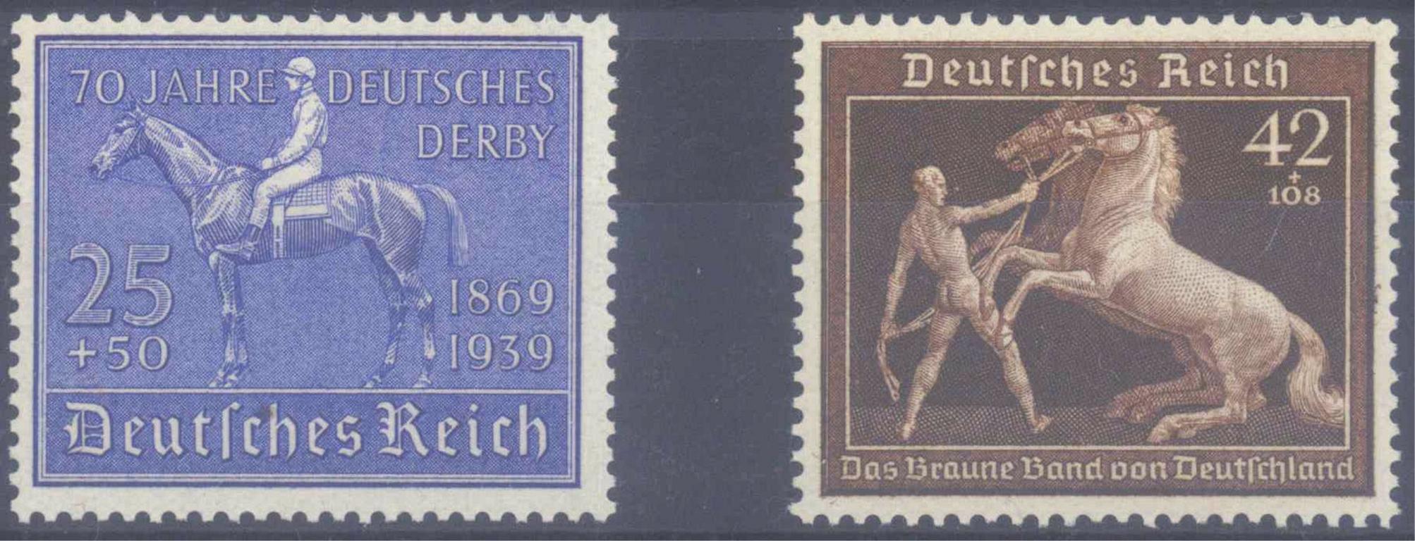 III. Reich 1939, Blaues und Braunes Band